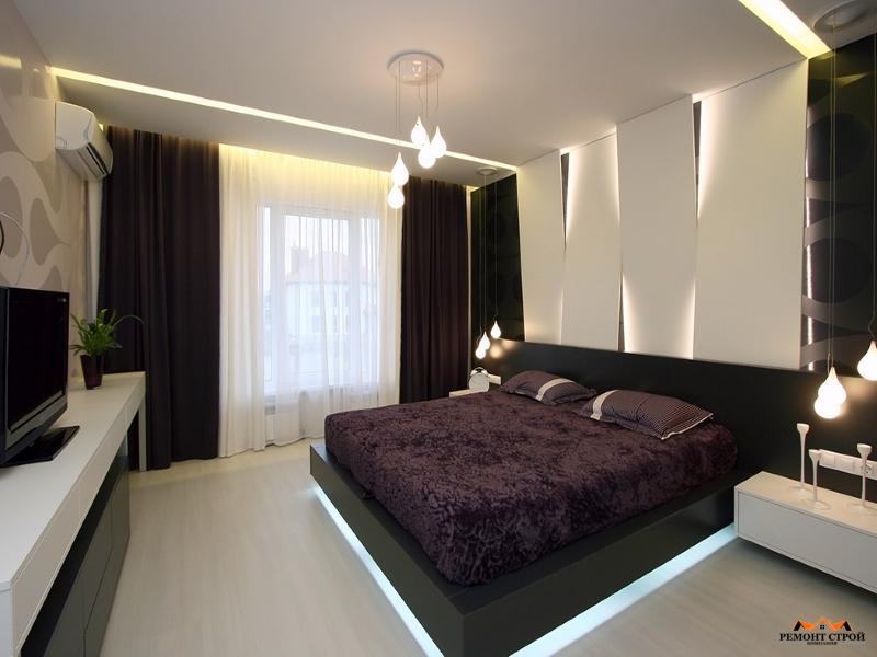ремонт спальня